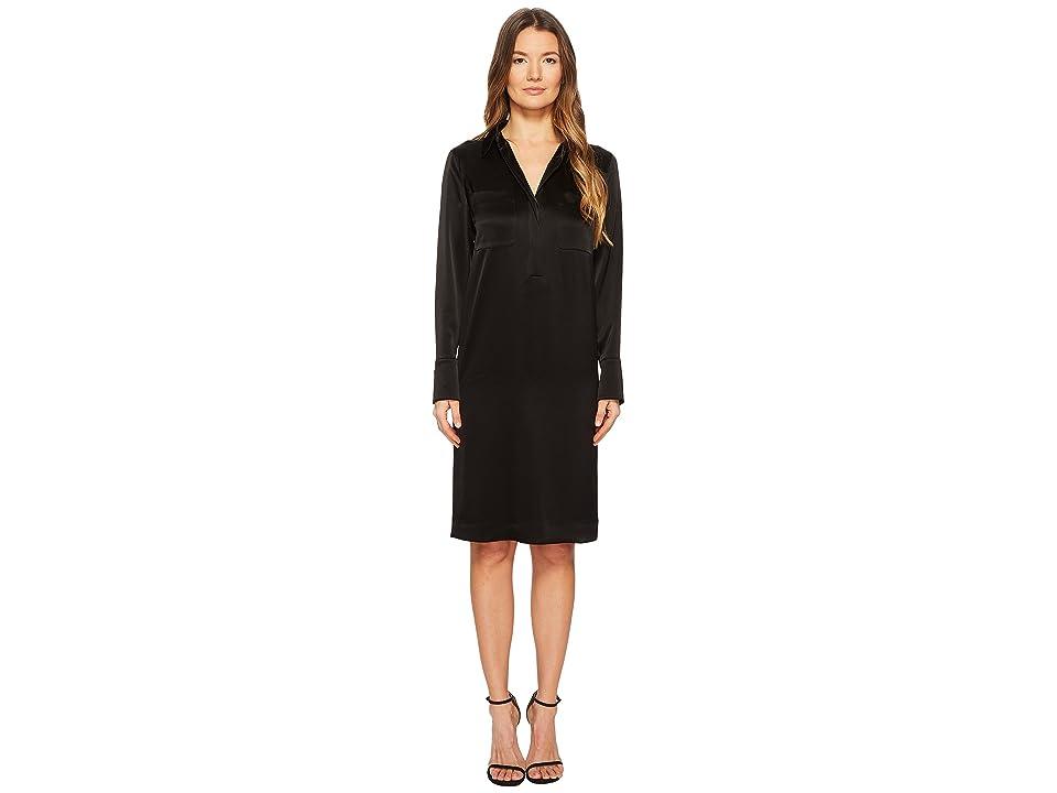 ESCADA Dvinav Long Sleeve Dress (Black) Women