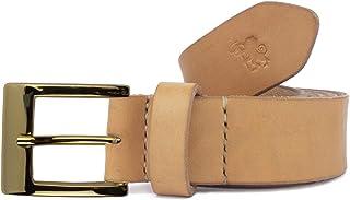 Cintura in cuoio uomo artigianale Caisar personalizzabile gratis