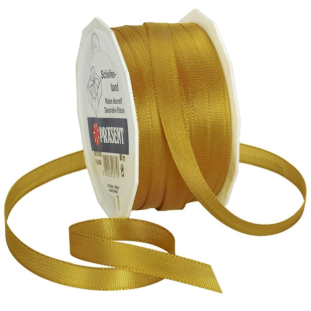 Morex Ribbon Europa Taffeta Ribbon Spool, 3/8-Inch by 55-Yard, Gold