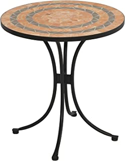 terracotta dining table