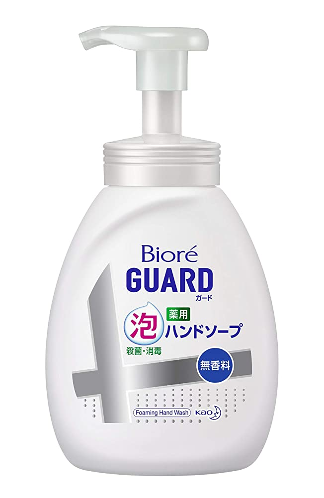 到着製造業動かない【大容量】 ビオレガード薬用泡ハンドソープ 無香料 ポンプ 500ml