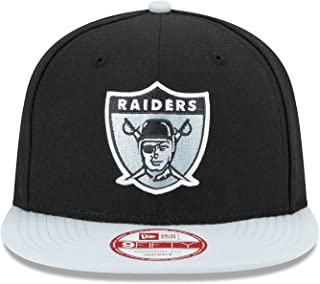 New Era Oakland Raiders 9Fifty Vintage Logo Refresh Adjustable Snapback Hat NFL
