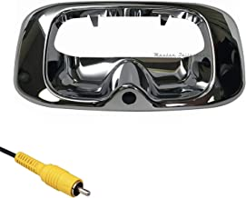 Master Tailgaters Replacement for Chevrolet Silverado/GMC Sierra 1999-2006 Chrome Tailgate Handle with Backup Camera