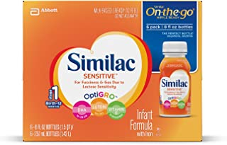 Similac Sensitive Baby Formula - Nursers - 8 oz - 24 pk