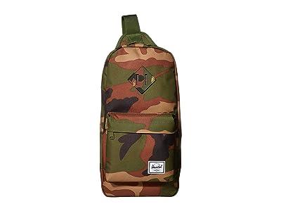 Herschel Supply Co. Heritage Shoulder Bag (Woodland Camo) Handbags
