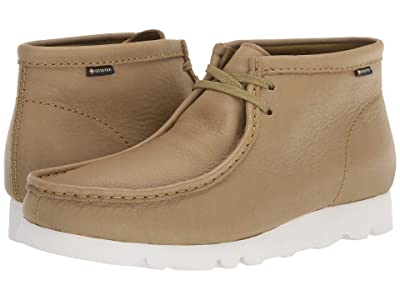 Clarks Wallabee Boot GTX (Khaki Leather) Men