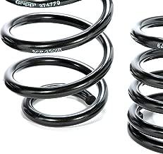 BBK 2501 Lowering Springs Kit - Performance Progressive Rate Kit for Ford Mustang V8