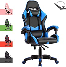 Advwin Gaming Chair Racing Style, Ergonomic Design Reclining Executive Computer Office Chair, Relieve Fatigue (135 Gaming ...
