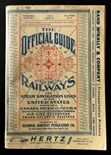 The Official Guide of the Railways and Steam Navigation Lines of the United States, Porto Rico, Canada, Mexico, Cuba and Central America July 1960