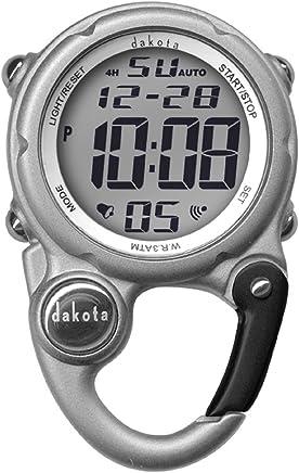 Dakota Digital Clip Mini Watch - Water Resistant - Silver