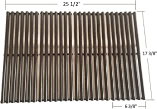 BBQ funland GP6024 Gloss Porcelain Enameled Cooking Grid Replacement for Select Gas Grill Models by Broil-Mate, Huntington and Others, Set of 4