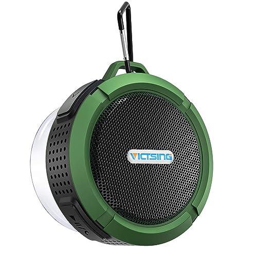 Ordinaire VicTsing C6 Shower Speaker, IPX5 Waterproof Bluetooth Speaker With 6H  Playtime, 5W Big Sound