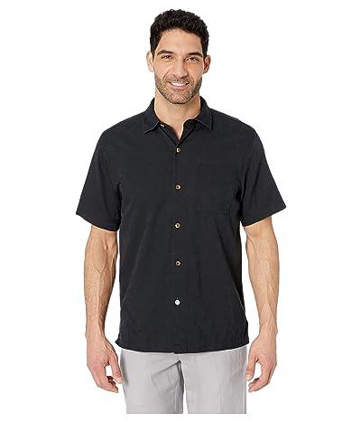 Tommy Bahama Camden Coast Shirt (Black) Men