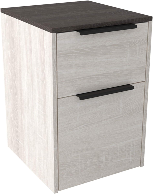 Signature Popular product Design by Max 87% OFF Ashley Dorrinson Antique White Cabinet File