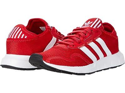 adidas Originals Kids Swift ESS J (Big Kid) (Scarlet/Footwear White/Core Black) Boys Shoes