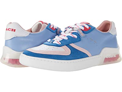 COACH CitySole Court Sneaker (Periwinkle Smooth Leather) Women