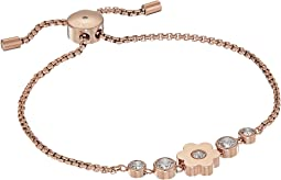 Michael Kors - In Full Bloom Floral Charm and Crystal Accent Slider Bracelet