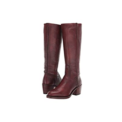 Frye Addison Tall Zip (Brown) Women