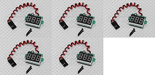 5 x Quantity of Walkera courirner 250 (R) Advanced GPS Quadcopter Drone On-Board LED RX Battery Voltage Display Checker JR Connector 3-30V RC - FAST FROM Orlando, Florida USA