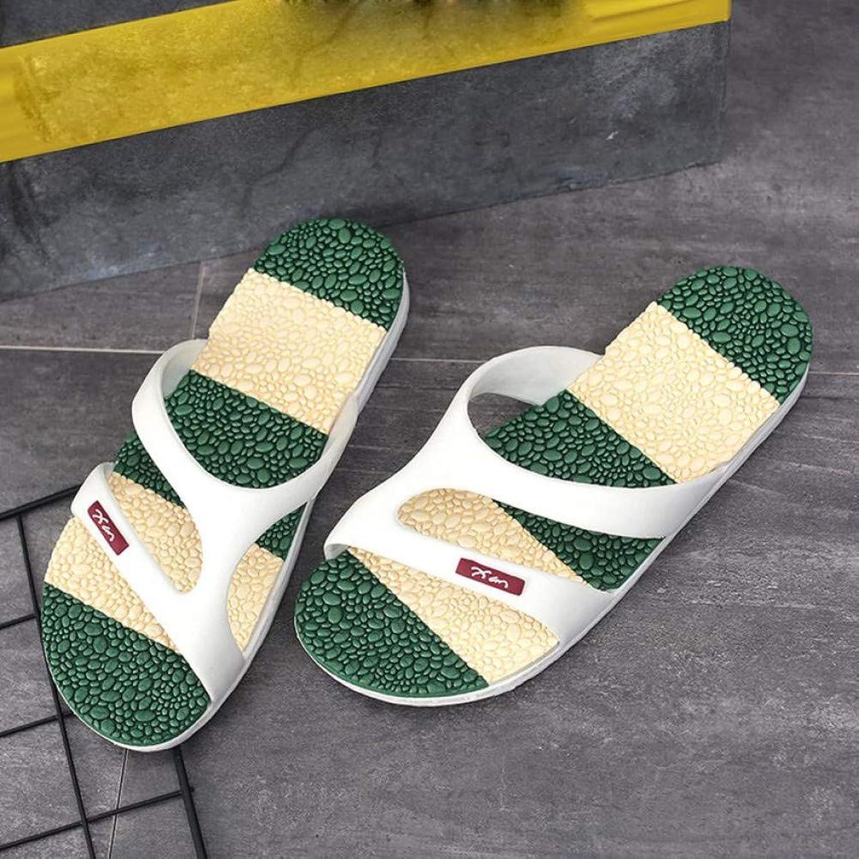 QRETYSG flip flop Summer Massage Beach Slippers Men shoes Flip Flops Casual Outside Slipper Soft sandalias