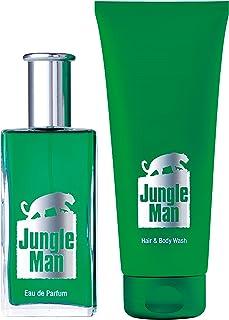 1a LRジャングルマン香水セット3600オードパルファム50ml +ヘア&ボディシャンプー50ml + 200ml