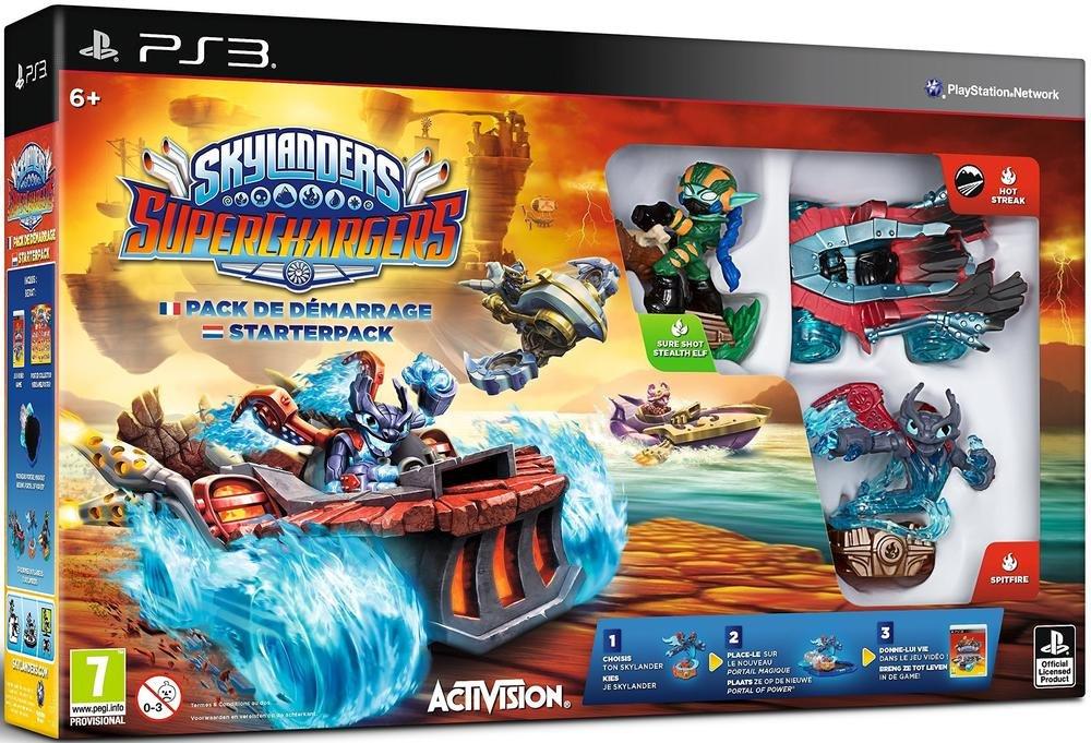 Skylanders Superchargers - Pack De Démarrage [Importación Francesa]: Amazon.es: Videojuegos