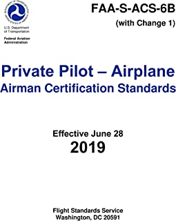 Private Pilot - Airplane Airman Certification Standards (FAA-S-ACS-6B) (English Edition)
