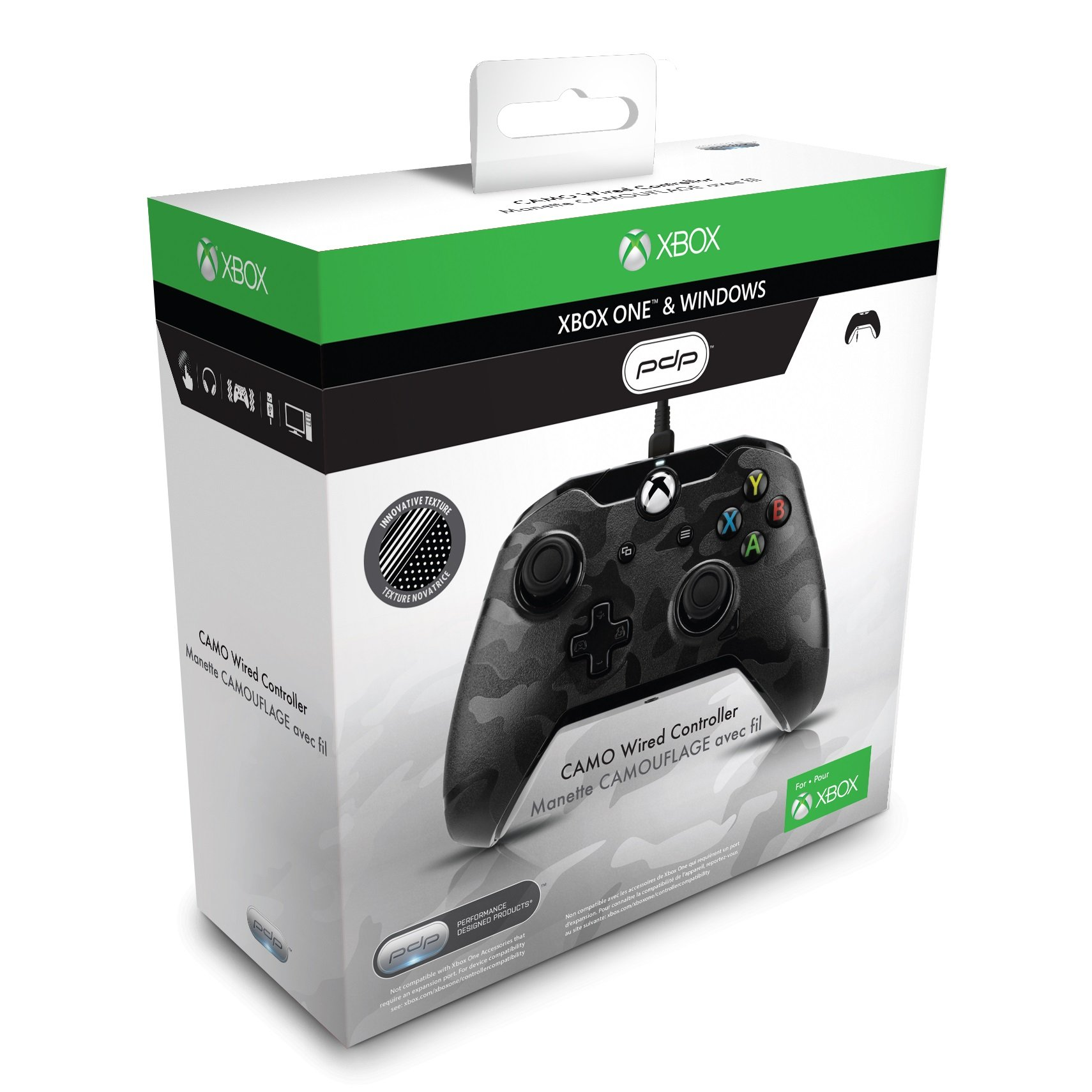 PDP - Mando Con Cable, Licenciado, Color Camuflaje (Xbox One, PC): Amazon.es: Videojuegos