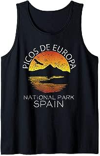 Picos de Europa National Park Spain Gift Nature Vacation Tank Top