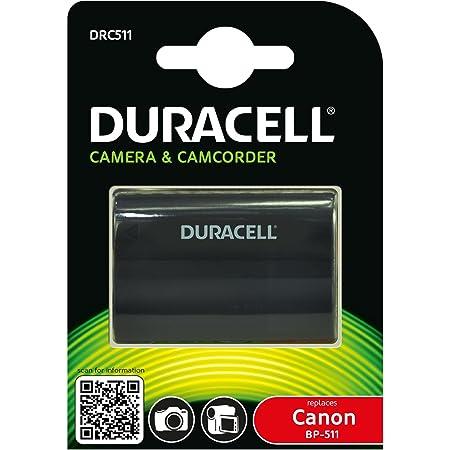 Duracell Drc511 Li Ion Kamera Ersetzt Akku Für Bp 511 Kamera