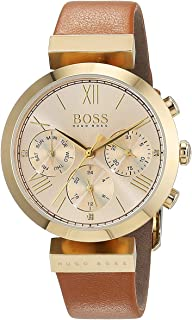 hugo boss Classic Sport Women's Dial Leather Band Watch - 1502396