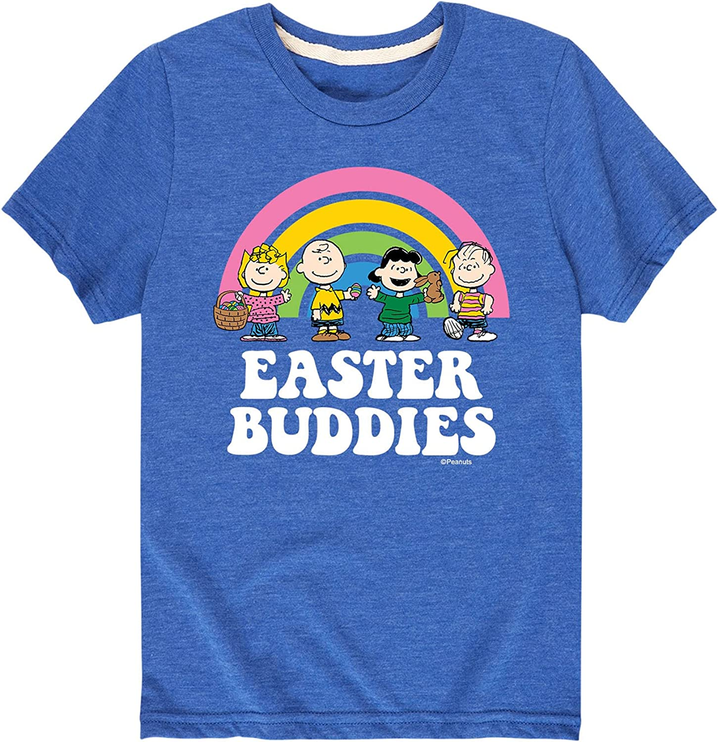 Peanuts - Easter Buddies-Toddler and Youth Short Sleeve Graphic T-Shirt