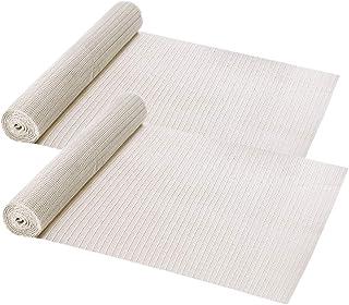DearMin 滑り止めシート 40×165cm 2枚入PVC製 自由にカットして 吸着カーペット