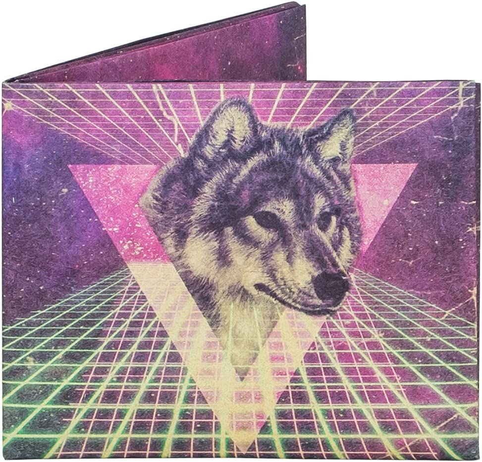 Mighty Wallet   Minimalist Tyvek Wallet   Front Pocket Wallet   Slim Wallet   Space Wolf