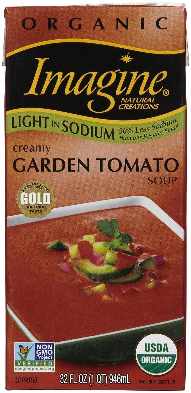 Imagine Organic Max 64% OFF Creamy Garden Tomato oz Dallas Mall - 32 Soup