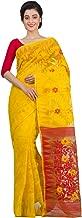RLB Fashion Women's Cotton Silk Handloom Dhakai Jamdani Saree