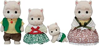 Calico Critters Woolly Alpaca Family, Dolls, Dollhouse Figures, Collectible Toys, Multi