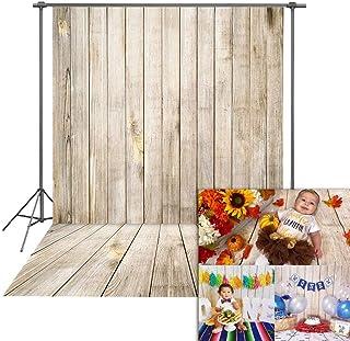 Fondali Fotografia in Legno per fondali in vinile per Bambini Daniu 5x7FT-150cm x 210cm QX002