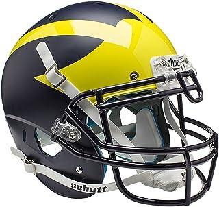 Schutt NCAA 中性款 NCAA 密歇根大学金刚狼队正品 XP 橄榄球头盔