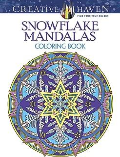 Creative Haven Snowflake Mandalas Coloring Book (Creative Haven Coloring Books)