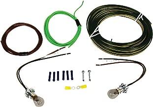 Blue Ox BX8869 Tail Light Wiring Kit, Bulb and Socket
