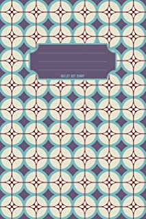 Bullet Dot Diary: Travel size Bullet Diary to keep your life style organized. Cute notebook to plan your day, to-do list, track your budget and habit. ... Metro inspired tile cover. (MPS Dot Grid)
