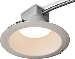 GE Lighting RX815835MV RX Series 8 in Round Retrofit LED recessed Downlight, White