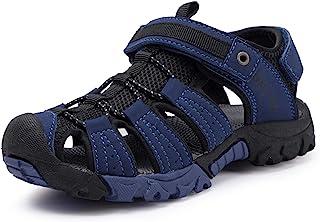 BMCiTYBM Boys Girls Sport Sandals Closed Toe Water Hiking Beach Outdoor Shoes (Toddler/Little Kids)