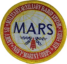 MILITARY AUXILIARY RADIO SYSTEM MARS Patch - Color - Veteran Owned Business.