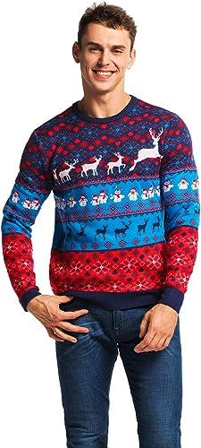 U LOOK UGLY TODAY Sweater Multicolore Grande Femme