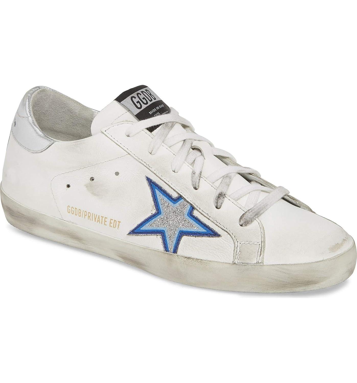[ゴールデングース] レディース スニーカー Golden Goose Superstar Glitter Star Snea [並行輸入品]