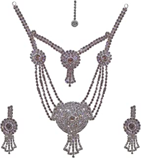 Confidence Bridal Necklace Wedding Set for Women And Girls