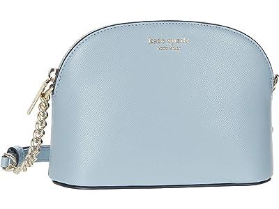 Kate Spade New York Spencer Small Dome Crossbody (Horizon Blue) Handbags