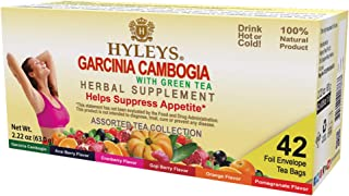 Sponsored Ad - Hyleys Wellness Garcinia Cambogia Assorted Tea Collection - 42 Tea Bags (100% Natural, Sugar Free, Gluten F...